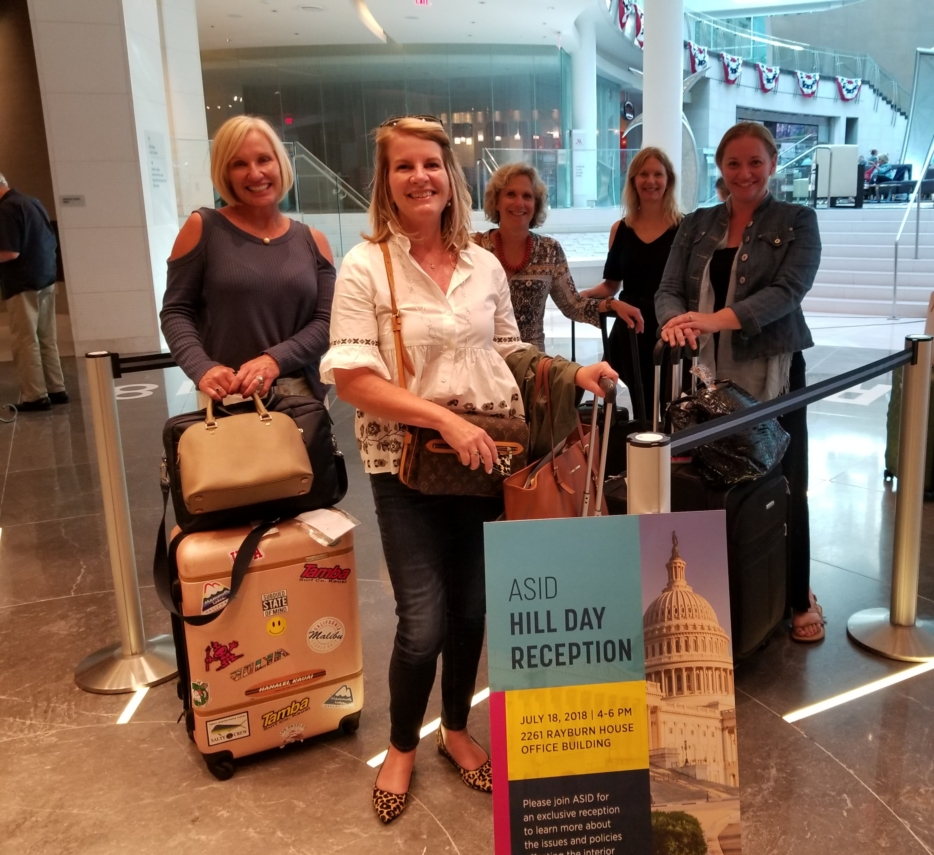 Incoming Board Members arrive in D.C.