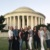 Incoming Board and Reba at the Jefferson Memorial