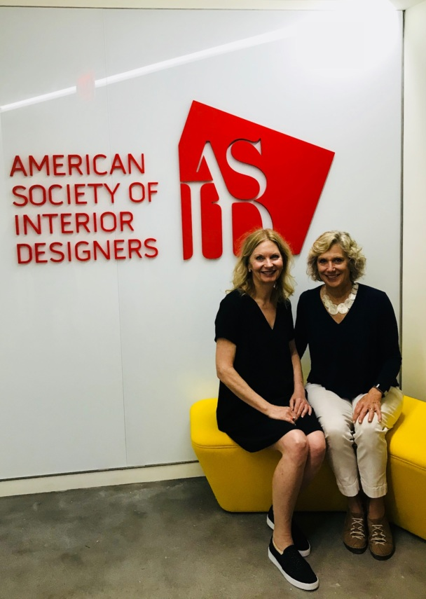 Tamalyn and Ann at the ASID Headquarters