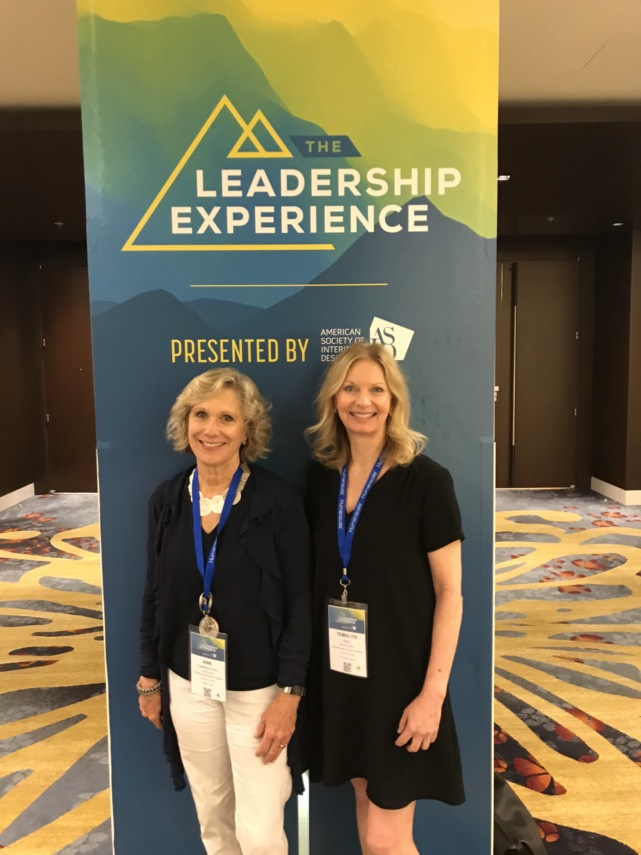Ann and Tamalyn at the Leadership EXP
